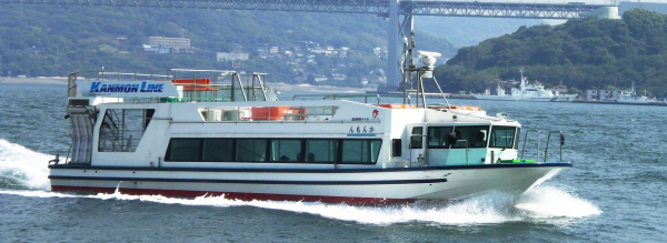 連絡船(下関・巌流島へ)