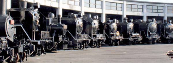 53両の展示車両