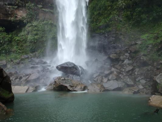ピナイサーラの滝つぼ