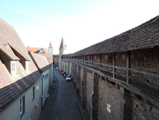 ローテンブルク-城壁