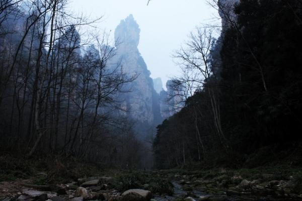 武陵源風景名勝区