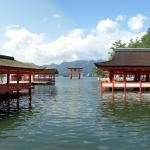厳島神社 満潮