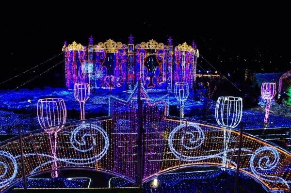 ハウステンボス 光の祭典